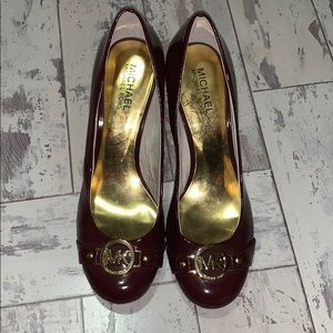 Michel Kors patent leather shoes
